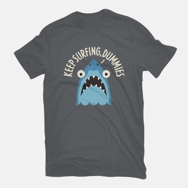 Great White Snark-mens basic tee-David Olenick
