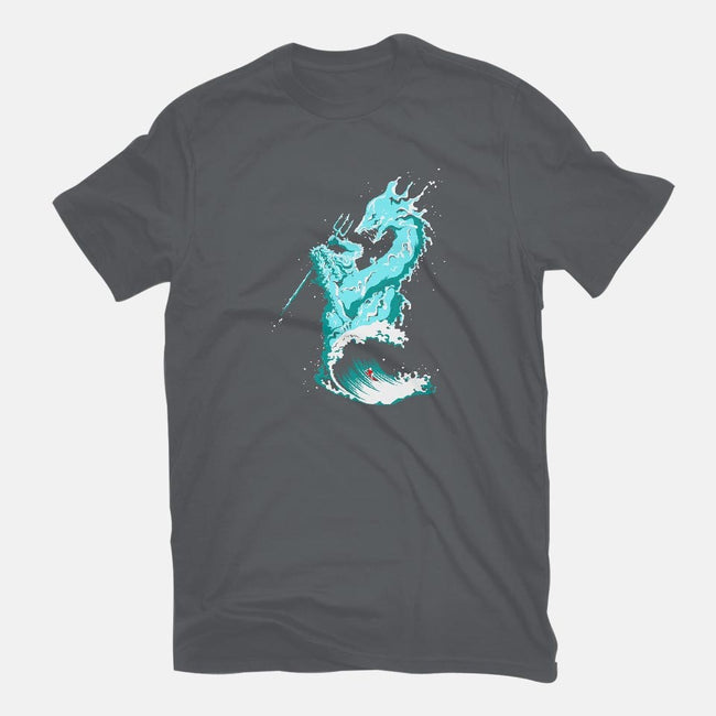 Ocean Fight-womens basic tee-flying mouse