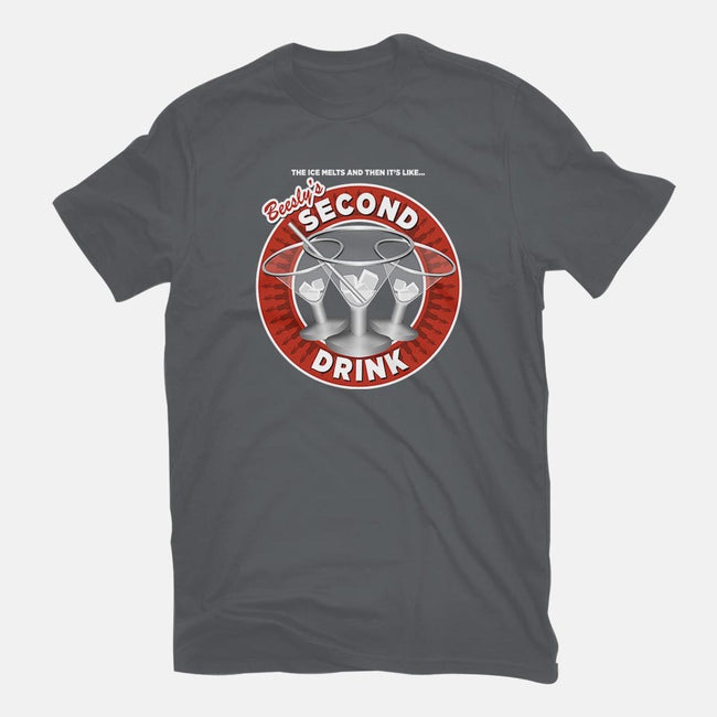 Beesly's Second Drink-mens basic tee-stlkid