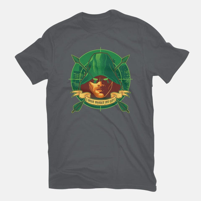 A City's Protector-womens basic tee-nakedderby