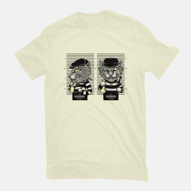Cat Burglar-mens basic tee-Alex Solis