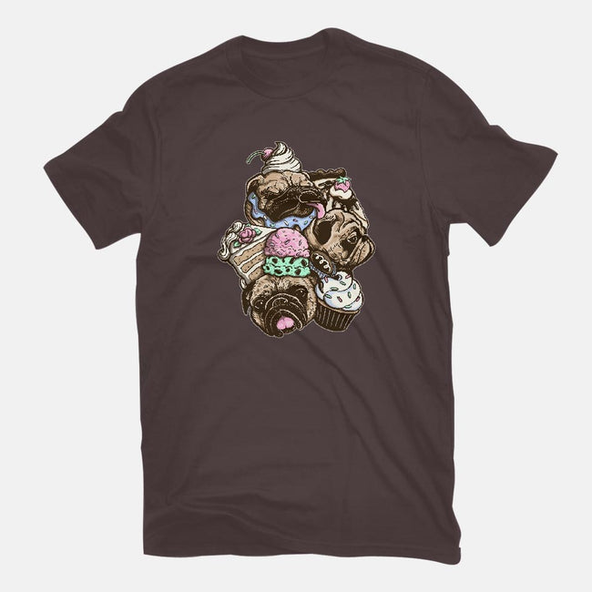Dogs & Desserts-mens basic tee-Kellabell9