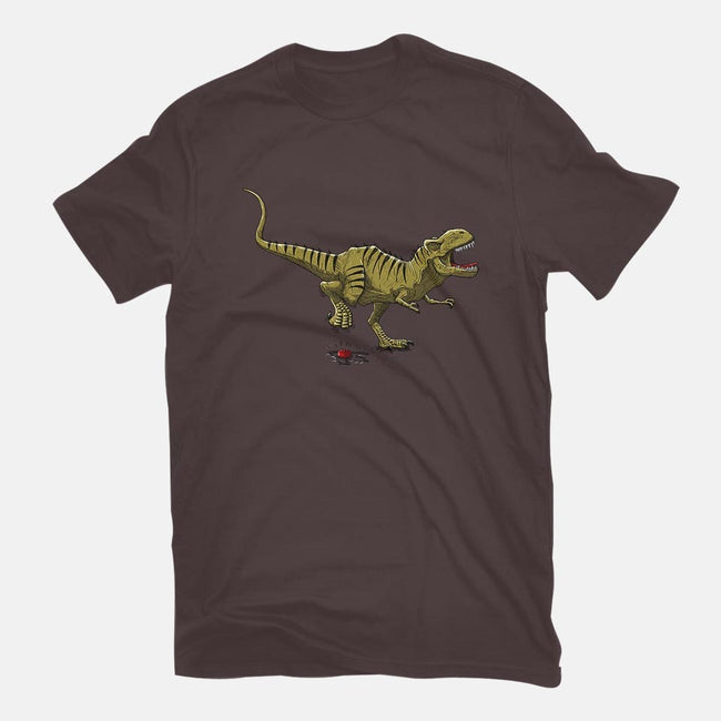 T-Rex-mens basic tee-ducfrench