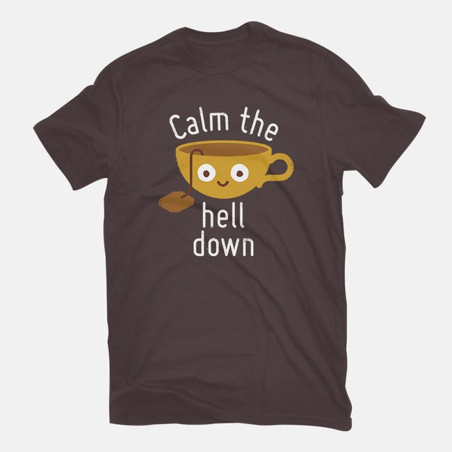 Anxietea-womens fitted tee-David Olenick