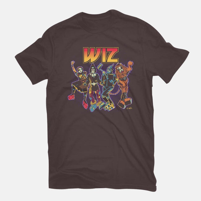 Off To Rock the Wiz-womens basic tee-DonovanAlex