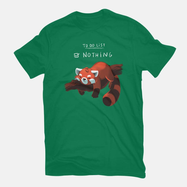 Red Panda Day-womens basic tee-BlancaVidal
