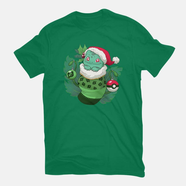 Grass Stocking Stuffer-mens basic tee-DoOomcat