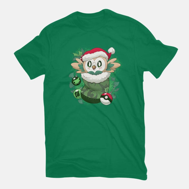 Leafy Stocking Stuffer-womens basic tee-DoOomcat