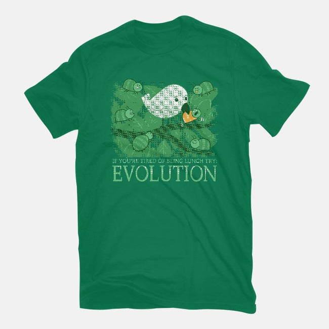 Natural Selection-womens fitted tee-queenmob