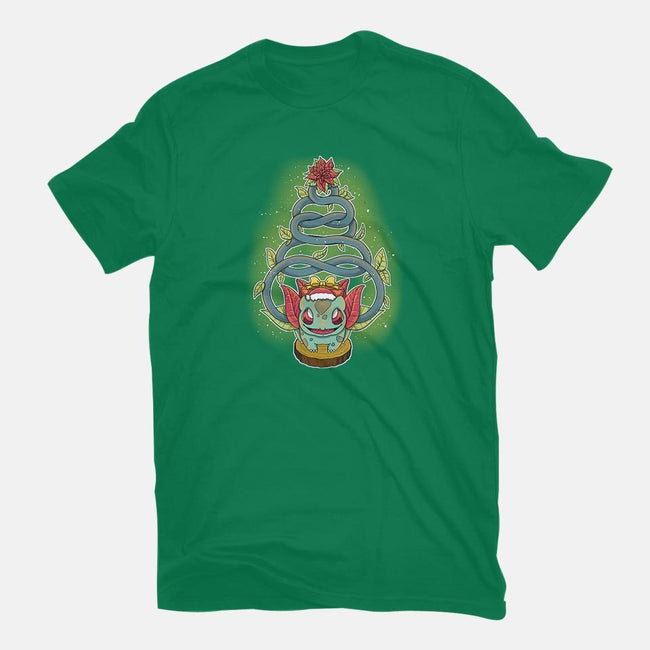 Grass Christmas-mens long sleeved tee-ellr