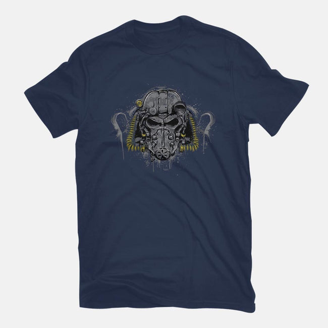 T-60 Power Armor-mens basic tee-DrMonekers