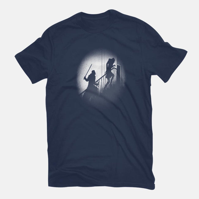 Daywalker and the Nightstalker-mens premium tee-Six Eyed Monster