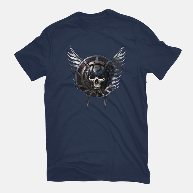 Battle Crest-mens basic tee-Crumblin' Cookie