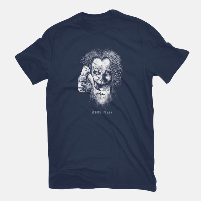 Wanna Play?-mens premium tee-bstgraph
