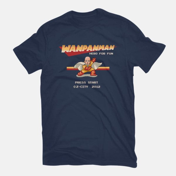 Wanpanman-youth basic tee-The Grilled Bacon