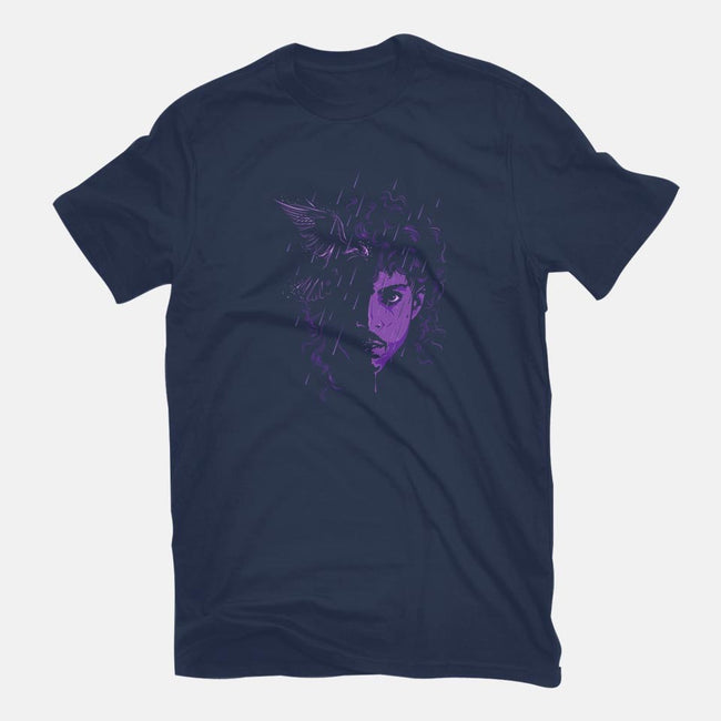 Rest in Purple-youth basic tee-CappO