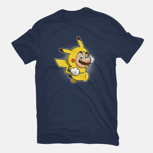 Pika Suit-mens basic tee-adho1982