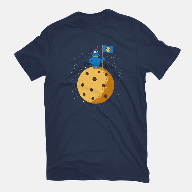 Cookie Conquered-womens fitted tee-DinoMike