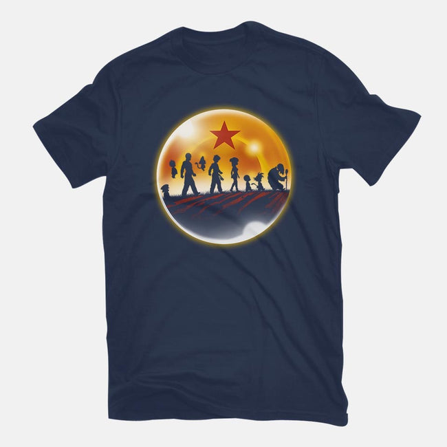 The Fellowship of the Dragon-mens basic tee-ddjvigo