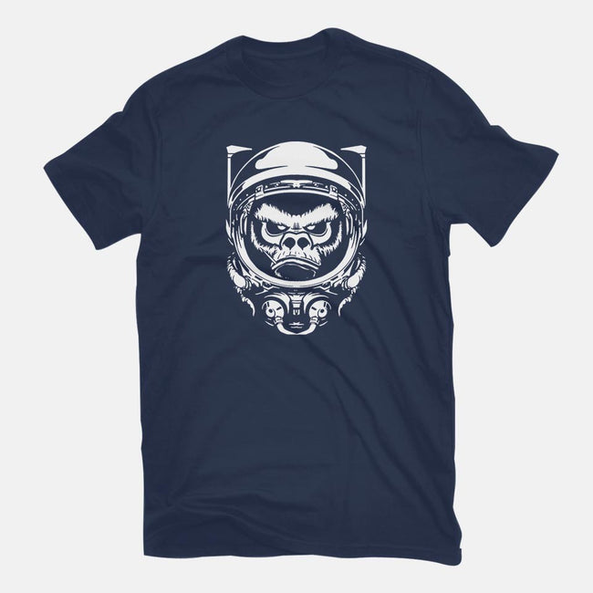 Cosmic Monkey-womens fitted tee-Immortalized