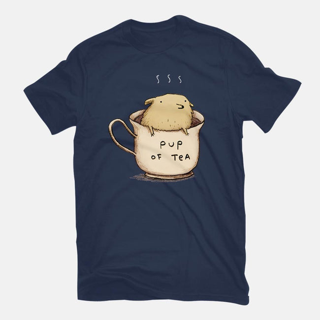 Pup of Tea-mens premium tee-SophieCorrigan