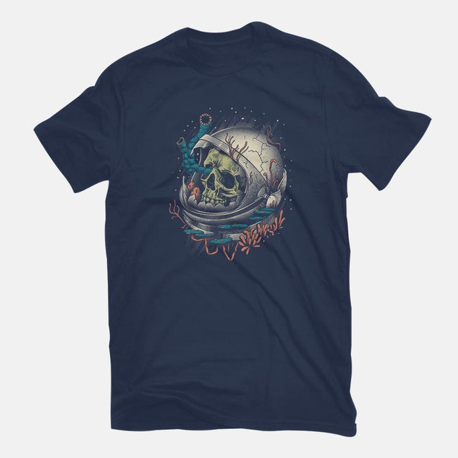 Space Decay-mens basic tee-vp021