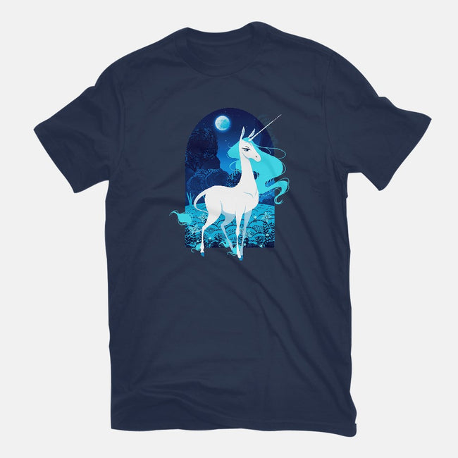 Unicorn Forest-mens basic tee-ursulalopez