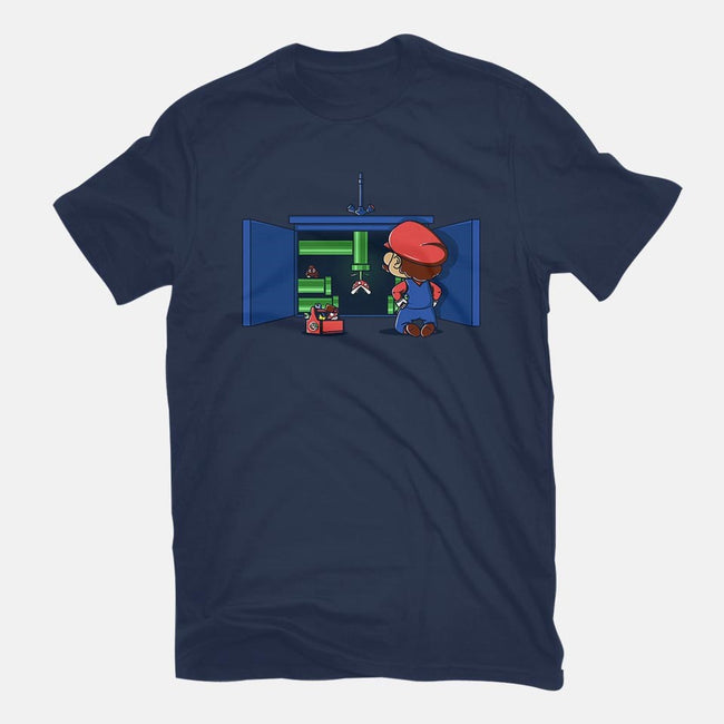 Real Plumber-mens basic tee-Donnie