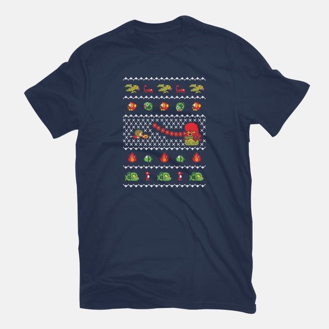 Kidd In Christmas World-mens long sleeved tee-Retro Review