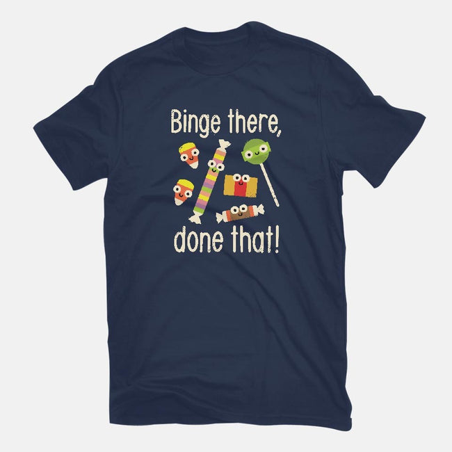 Half In The Bag Again-mens basic tee-David Olenick