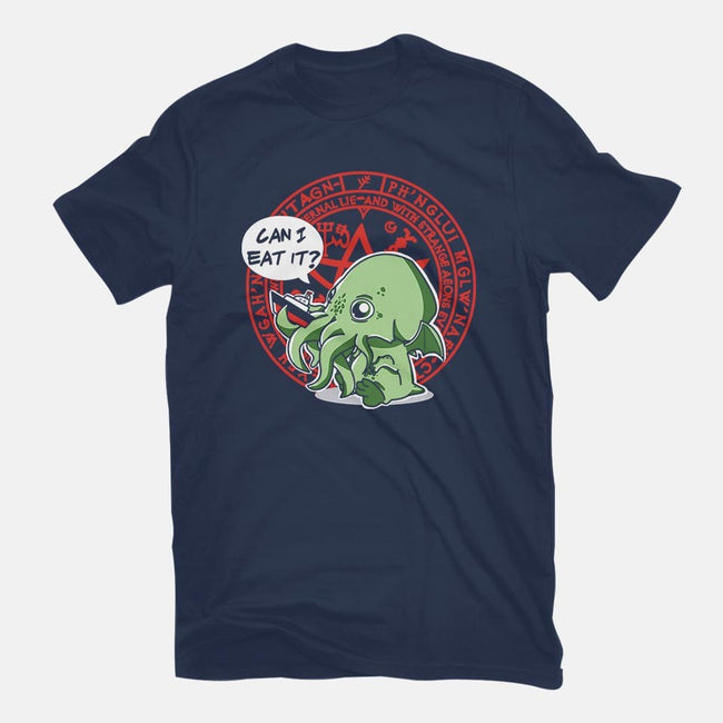 Little Cthulhu Is Hungry-mens long sleeved tee-TaylorRoss1
