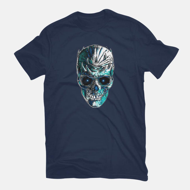 King is Dead-mens basic tee-RicoMambo