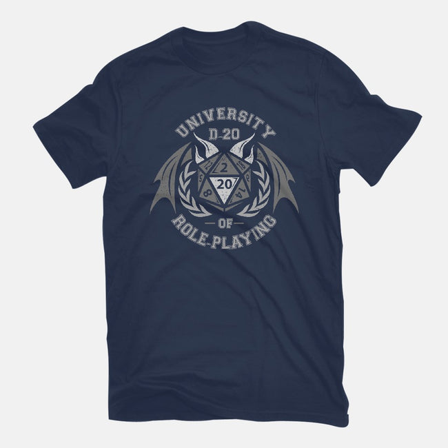 University of Role-Playing-mens basic tee-jrberger