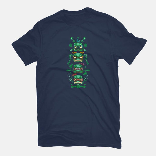 Turtle Totem-mens basic tee-Harzack