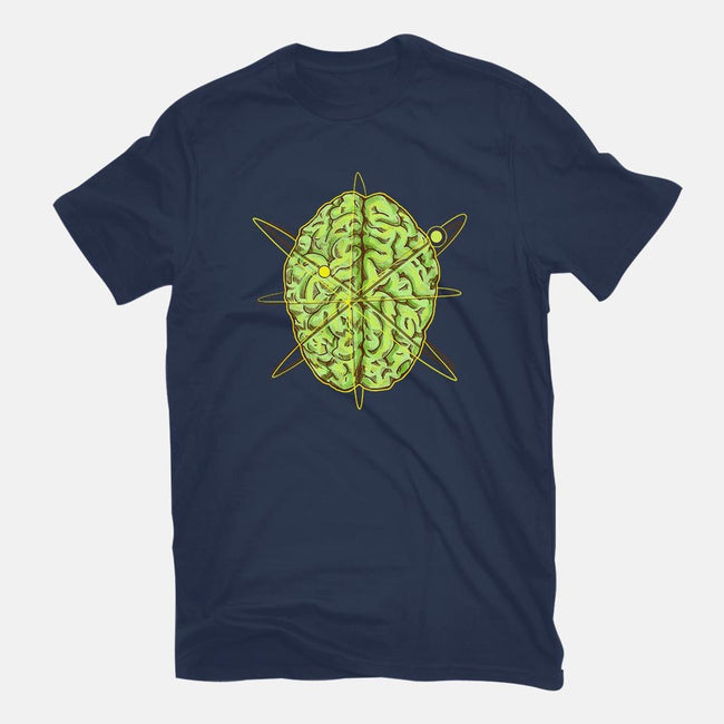 The Atomic Brain-mens basic tee-Paintchips