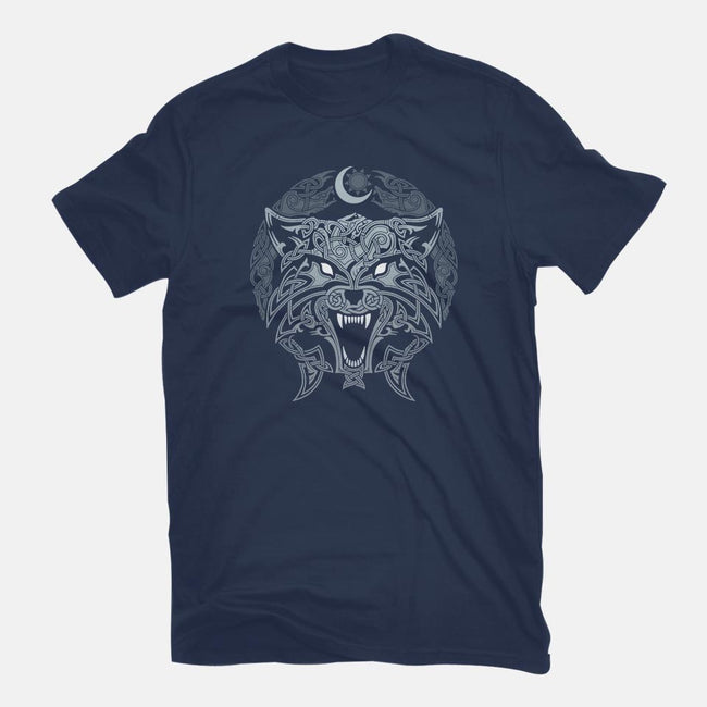 Wolves of Ragnarok-mens basic tee-RAIDHO