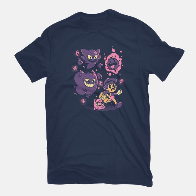 Old but Ghosts-womens basic tee-ilustrata