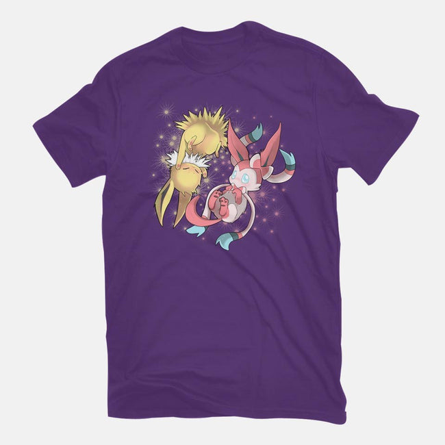 Electric Fairy-mens basic tee-Ewel