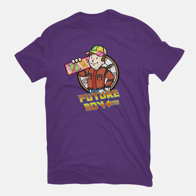 Future Boy-womens fitted tee-Apgar Arts