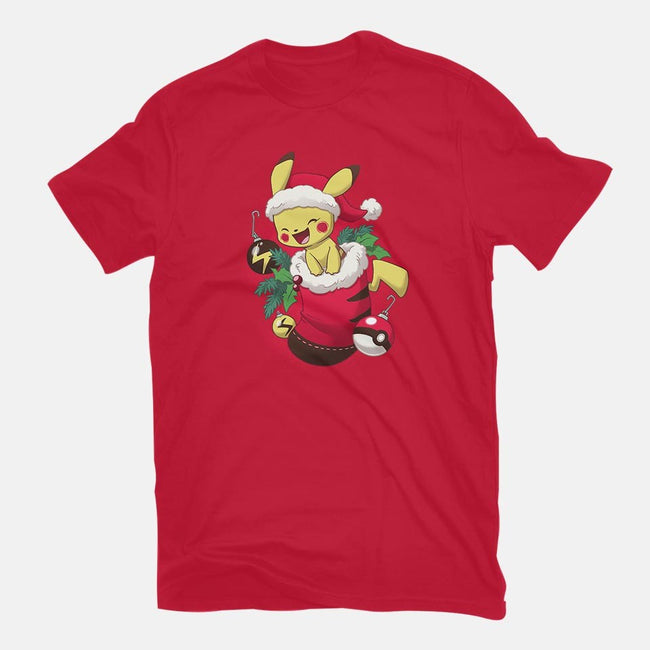 Electric Stocking Stuffer-womens fitted tee-DoOomcat