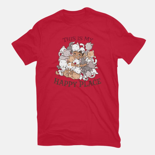 Cat Pile-mens basic tee-DoOomcat