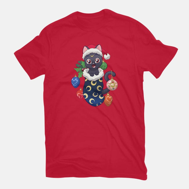 Lunar Stocking Stuffer-mens basic tee-DoOomcat