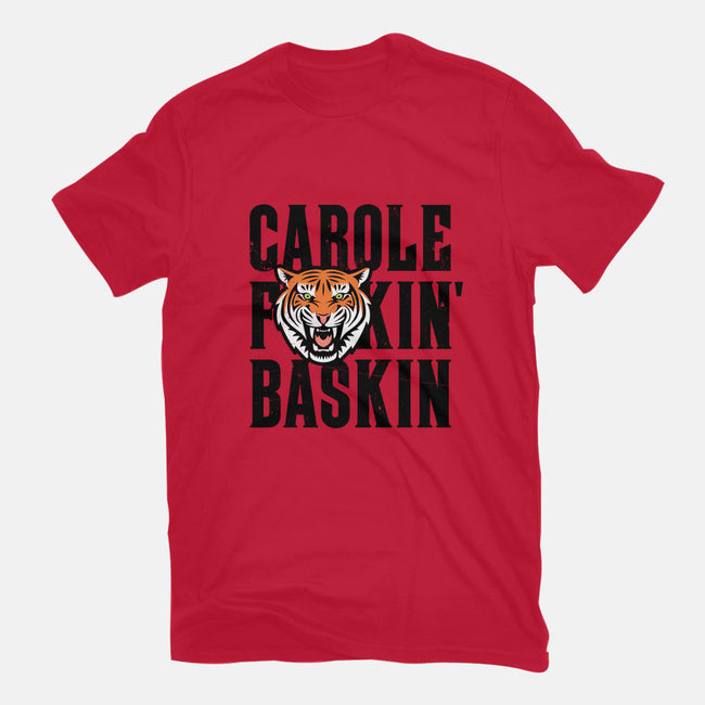 Carole F*ckin Baskin-mens basic tee-stationjack