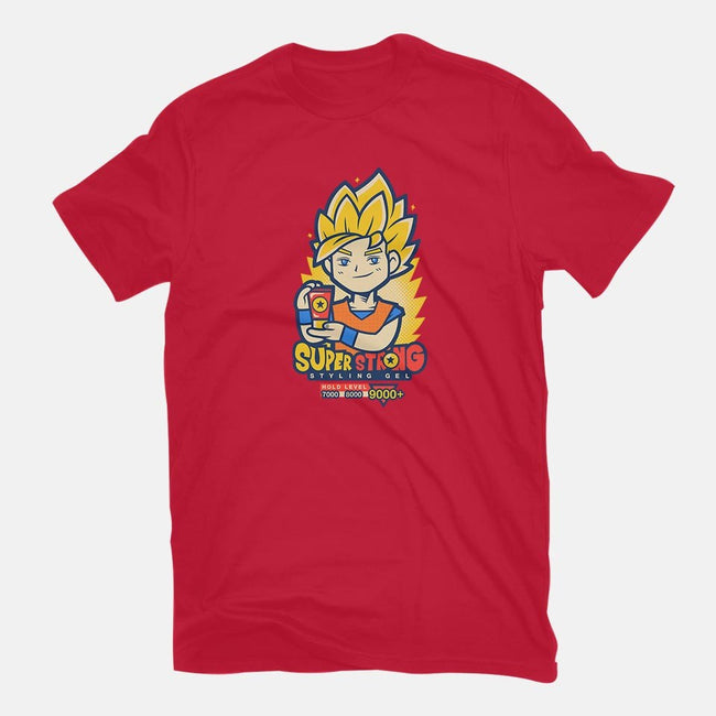 Super Saiyan Gel-mens basic tee-Oktobear