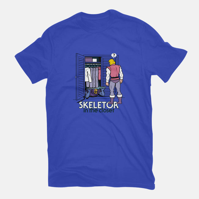 Skeletor in the Closet-mens basic tee-Boggs Nicolas