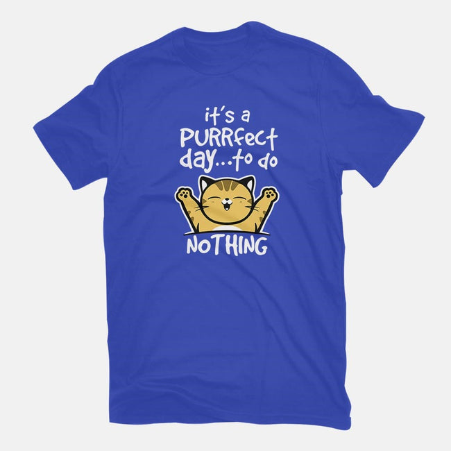 Purrfect Day-youth basic tee-NemiMakeit