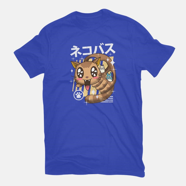 Kawaii Nekobasu-womens fitted tee-vp021