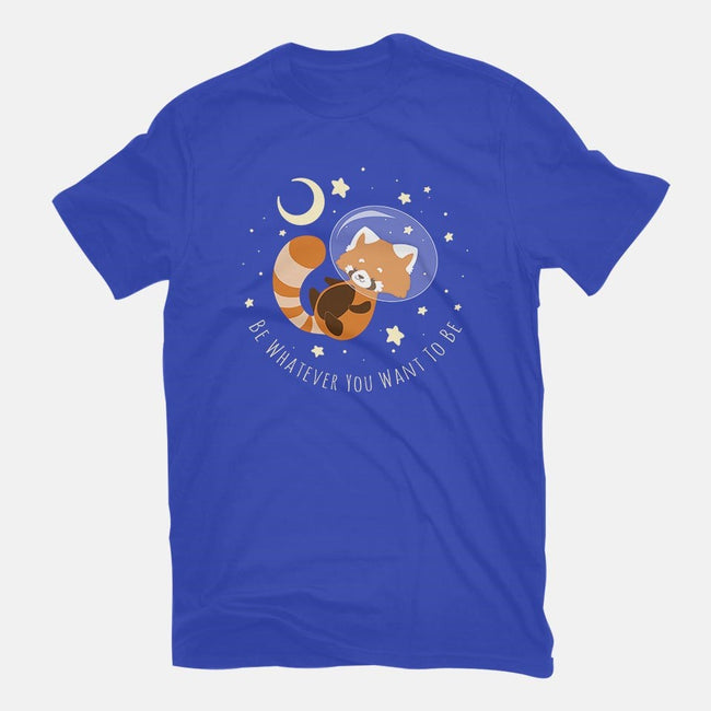Red Panda Dream-mens basic tee-ChocolateRaisinFury