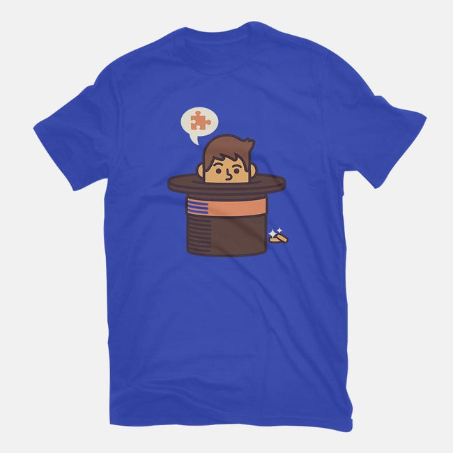 Puzzling Professor-youth basic tee-Minilla
