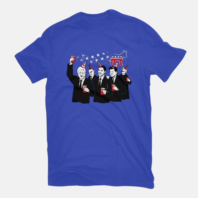 Democratic Party-womens basic tee-tom burns